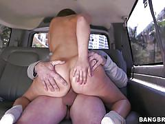 Sexy remy lacroix get's a ride in the bang bus