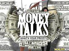 Money talks and hot girls do everything for cash