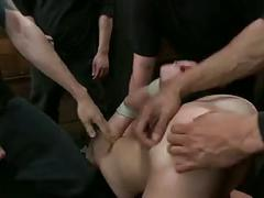 Gangbang .. anal, the works.. u know the drill