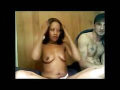 amateur, black and ebony, interracial
