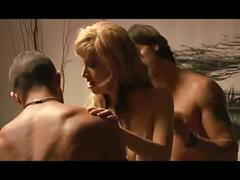 Best sex for male female male threesome