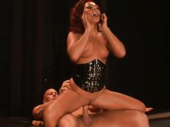 Redhead sandra romain drilled hard
