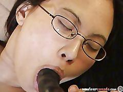 Asian with huge tits and wet pussy playing