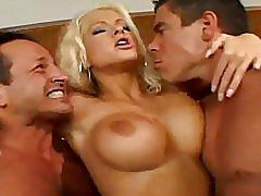 Blonde brunnette hardcore