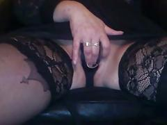 Wife play with sextoy and i make her squirt