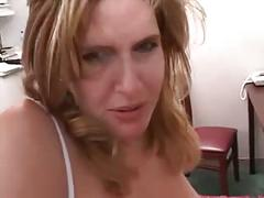 Hot amateur milf takes dp