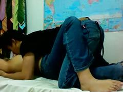 Amateur asian colleges teen lick pussy