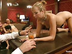 Hot milf is getting punished