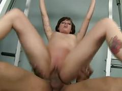 Hot milf having sex at the gym by troc