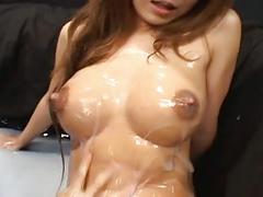 Japanese lesbians lactation