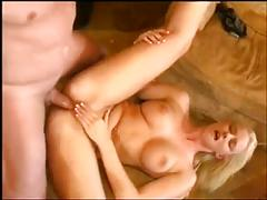 British blonde love anal fj