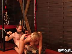 Mistress monicamilf hangs her sub upside down  norwgian porn