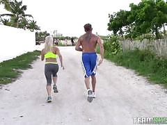 The real workout christi ann fucked hard doggy...