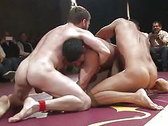 Hardcore wrestling match
