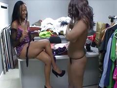 Lesbian ebony amateurs 06