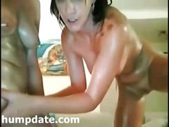 Two sexy lesbian babes teasing on webcam