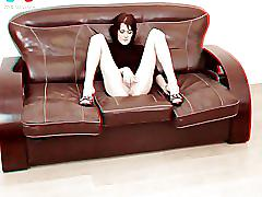 fisting, toys, tiny-tits, small-breasts, skinny, fist, dildo, bottle, spreading, 3d, anaglyph, stereoscopic, stockings, wide, pussy, slim