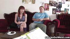 Real ginger couple pre sex chat