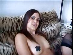 2 hotties get very hard anal atm and eat anal creampies
