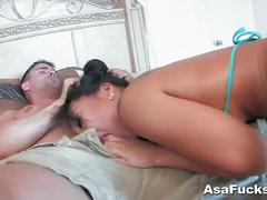 Asian pussy pounded hard