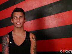 Watch sexy hot interviews of gay guys