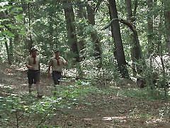 Scout boys fuck in the woods