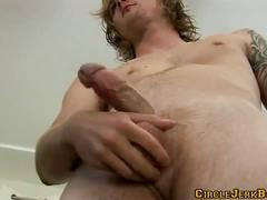 After shower jerking with eric ryan