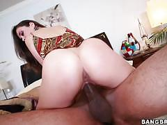 Bangbros network allie haze is excited to get...