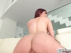 All internal tal chick pussy is pounded and filled with cum