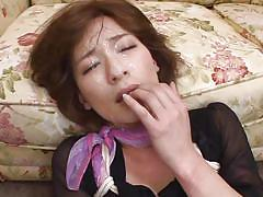 Rough mouth fucking makes her horny