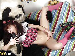 Big dick panda and his girl