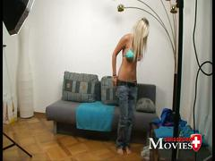 teen, blonde, young, student, casting, first-time, interview, jill, swiss