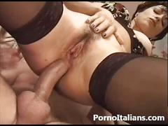 Moglie italiana inculata - sesso anale - italian wife italian woman mature