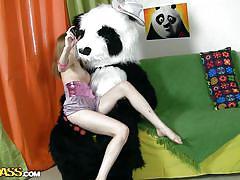 teen, blonde, russian, slim, costume, games, photoshoot, undressing, sex toy, sucking dildo, panda, tani, panda fuck, wtf bucks