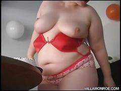 masturbate, plump, bbw, cake
