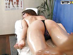 big ass, massage, babe, russian, thong, oiled, brunette, nene, hd massage porn, wtf bucks