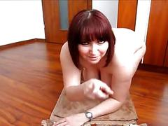 Fantastic german plumper fisting her ass 2