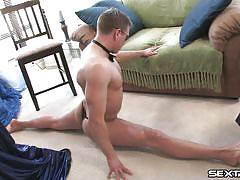 Hot man masturbates like a pro