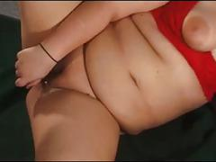 Bbw amateur woman with vibrator