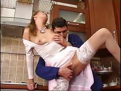 amateur, russian, stockings