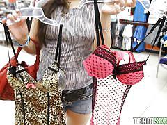 milf, public, blowjob, shopping, brunette, pick up, in car, pov, mall, sadine godiva, pov life, paper street cash