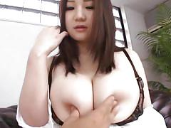 babe, japanese, asian, brunette, huge boobs, natural tits, pov, bra, nipples squeezing, boobs groping, sou miura, big tits tokyo, idol bucks