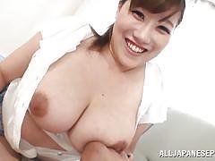 milf, japanese, asian, big boobs, busty, brunette, natural tits, big nipples, sucking nipples, rin yunoki, big tits tokyo, idol bucks