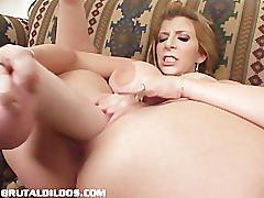 Sara jay - brutal dildos