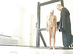 fetish, hardcore, babe, blonde, smalltits, roughsex, bondage, extreme, rough, kinky, russian, submission, slave, training, humiliation, mouth-fuck, tiedup