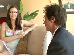 Slut gracie glam banged by stepdad