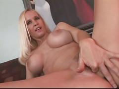 Blonde anal slut