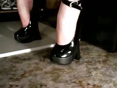 8 inch heels (by tm)