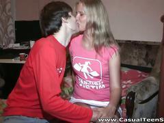 Amateur blonde teen fucking
