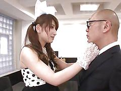 milf, handjob, asian, costume, blowjob, pov, brown haired, yui, idols 69, idol bucks